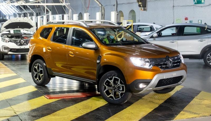 В России началось производство «Дастера» нового поколения