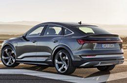 На российский рынок вышел ещё электромобиль Audi