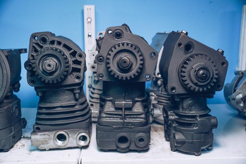 Ремонт компрессоров импортных грузовых автомобилей