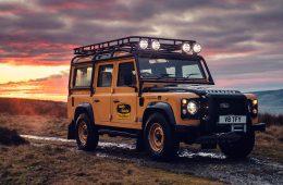 Land Rover возродит экспедиционный Defender для гонки возле замка