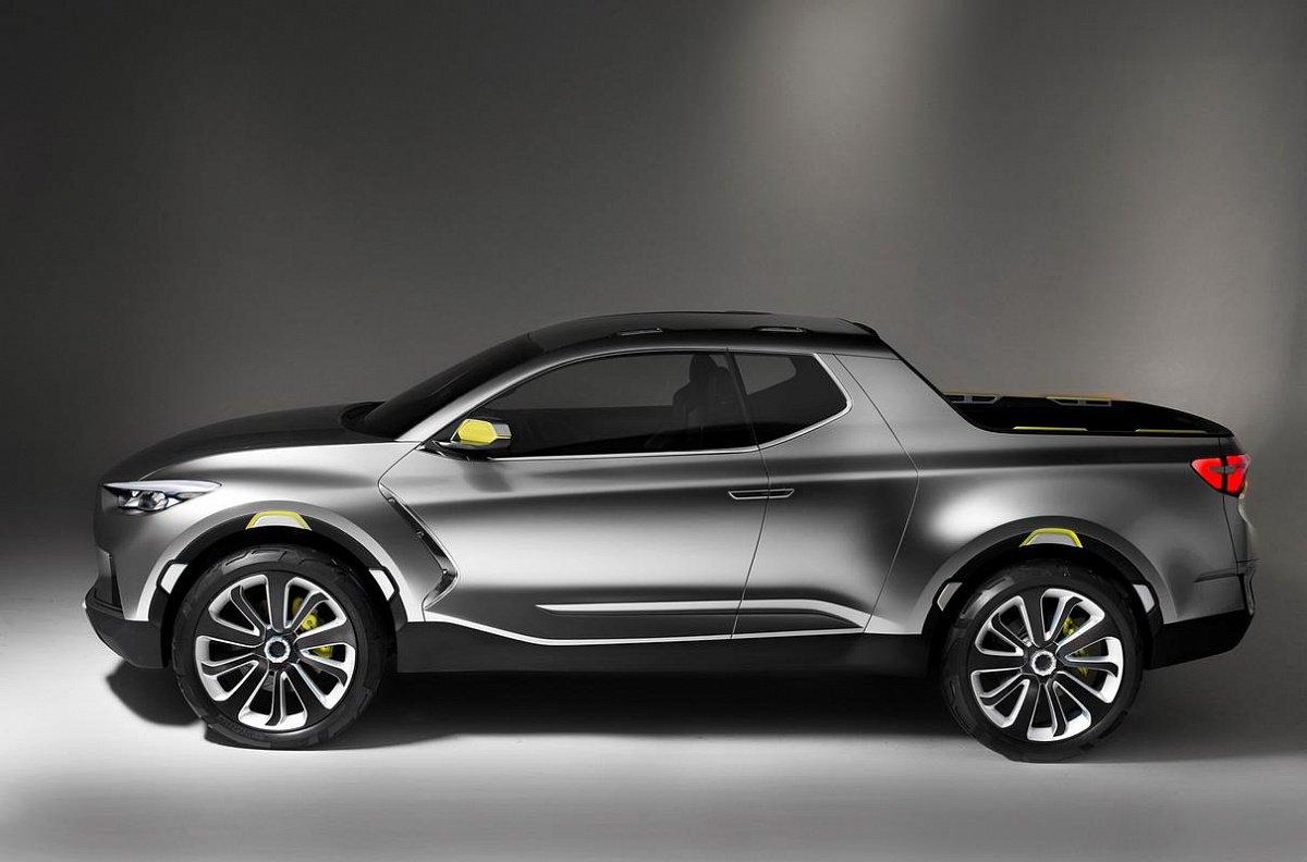 Кросс-пикап: новая модель Hyundai