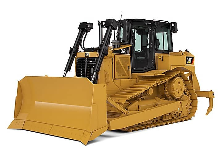Один из лучших бульдозеров компании Caterpillar, это бульдозер CAT D5 !