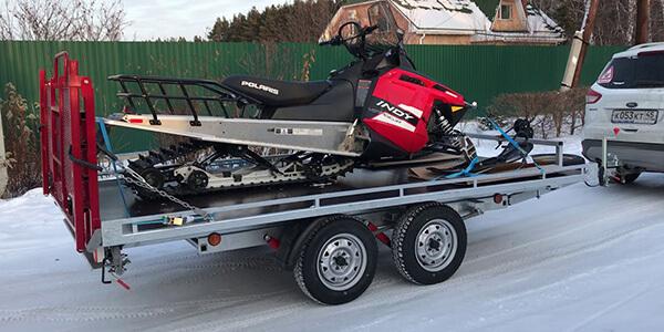 Выбираем самый надежный прицеп для перевозки снегохода