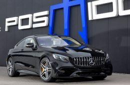 Мифическая мощность и динамика от Posaidon для Mercedes-Benz AMG S 63 Coupe!
