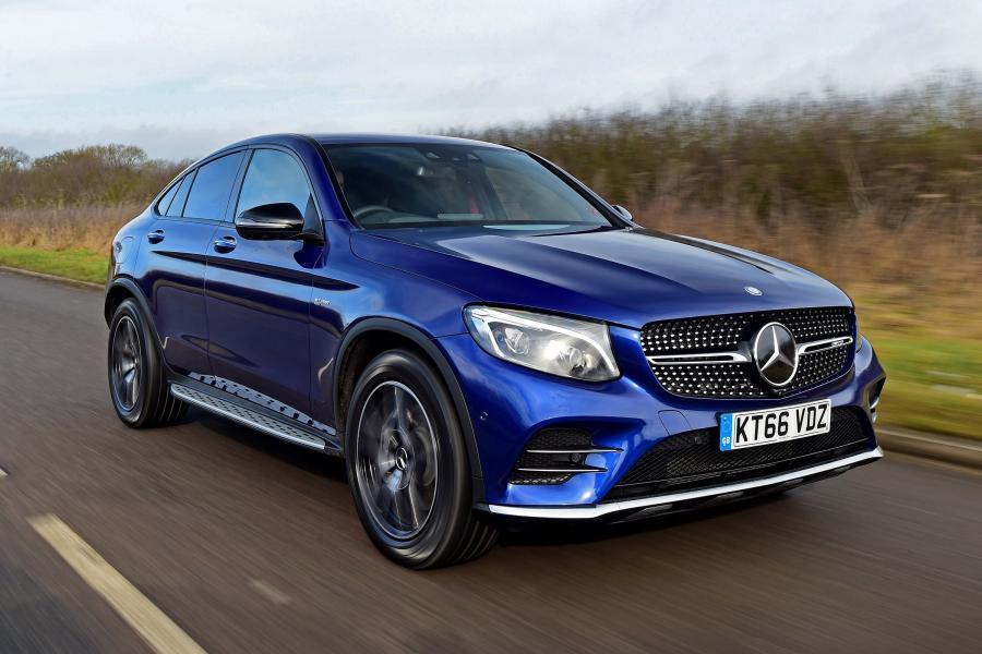 Mercedes GLC купе