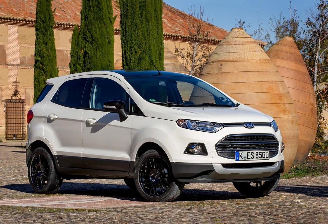 Ford Ecosport в обновленном виде