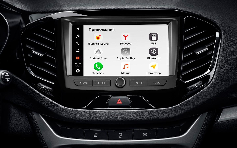 АвтоВАЗ разработал новую медиасистему с голосовым управлением