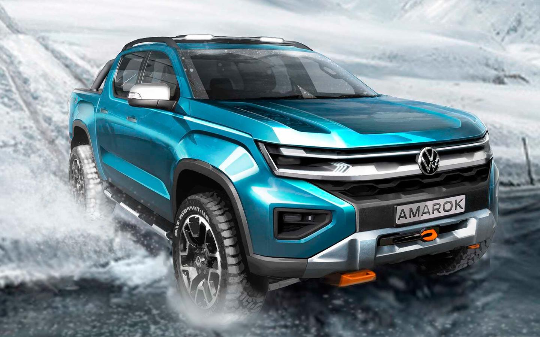 Volkswagen показал дизайн нового Amarok