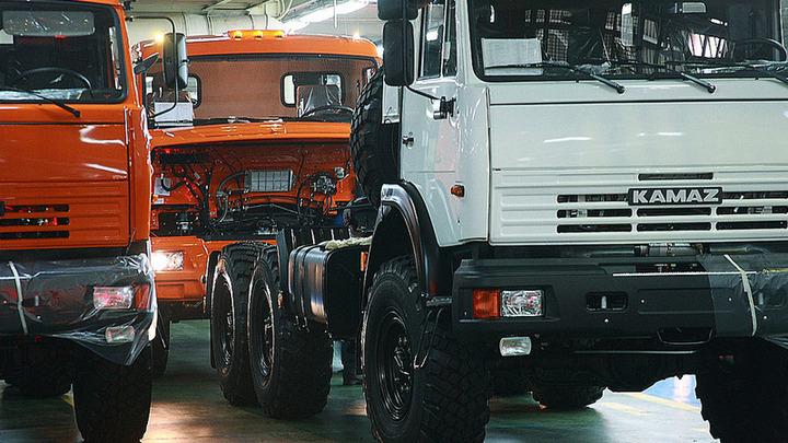 «КамАЗ» резко увеличил выпуск грузовиков