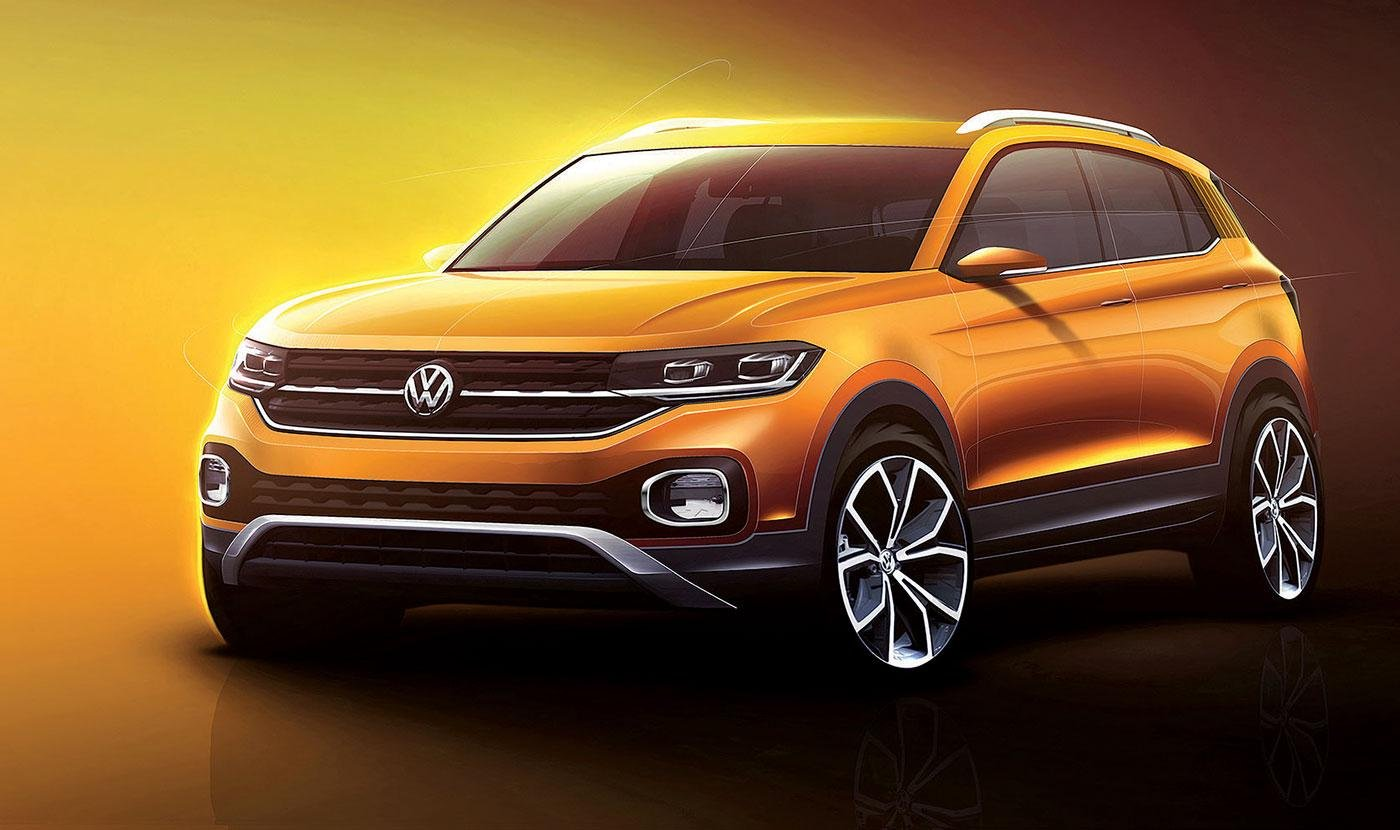 Новый кроссовер с купеобразным кузовом: Volkswagen показал видеотизер ID.5