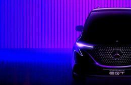 Mercedes-Benz готовит новый компактвэн: первый тизер EQT