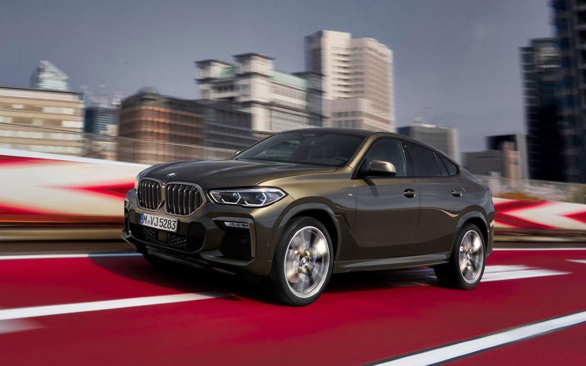 BMW отправит на сервис в России новые X6 для замены спойлера