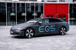 Флагманский электрокар Mercedes сможет проехать 770 км без подзарядки