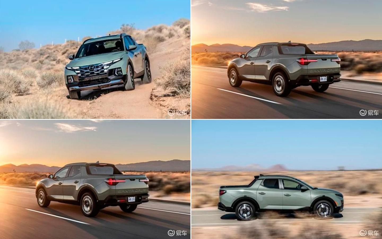 Внешность нового пикапа Hyundai раскрыли перед премьерой