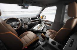 Volkswagen показал салон нового T7 Multivan