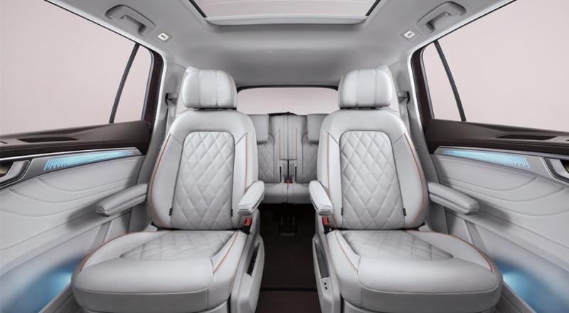 Кроссовер Volkswagen Talagon, который больше Терамонта, предложен с моторами младшего брата
