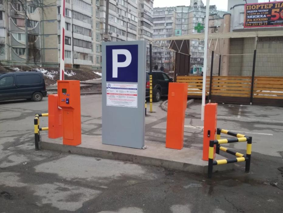 Применение парковочных стоек