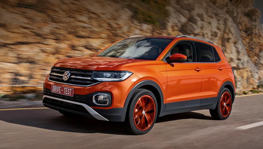 Городской кроссовер Volkswagen T-Cross представили в Софии