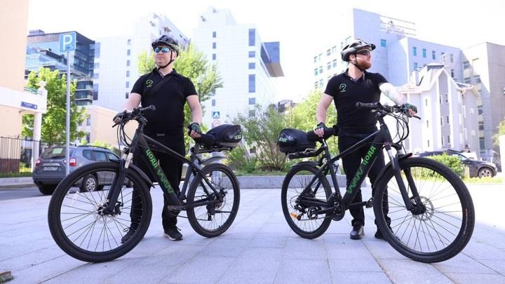 На дороги Москвы выезжают велопатрули
