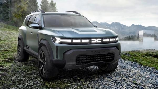 Посмотрите на Dacia Bigster, на базе которой сделают Lada Niva нового поколения