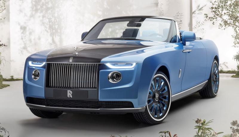 Rolls-Royce представил кабриолет, который сделают всего в трёх экземплярах