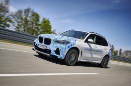 Водородомобили BMW начали тестировать на обычных дорогах