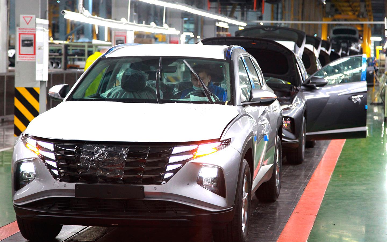 В Калининграде началось производство нового Hyundai Tucson для России
