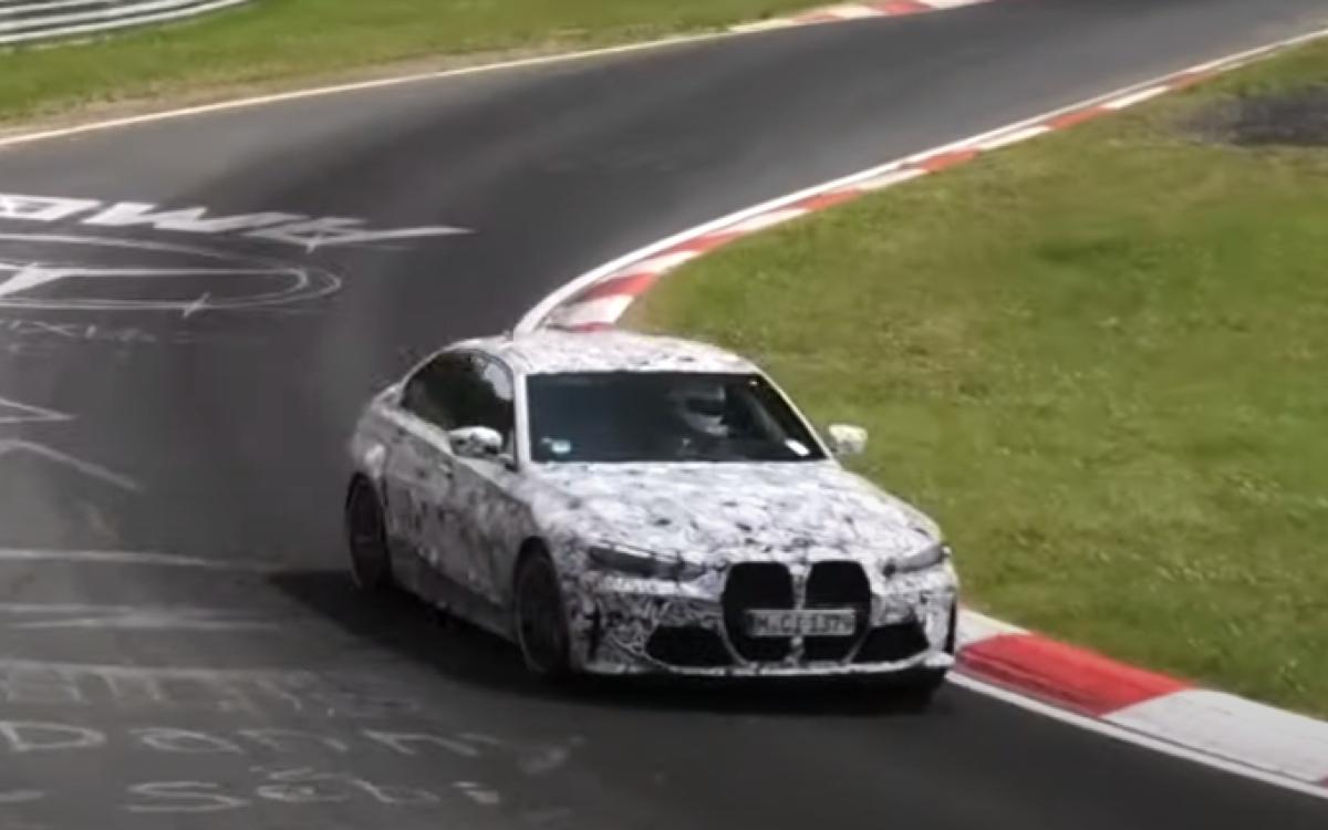 BMW вывела на Нюрбургринг самую экстремальную версию новой M3