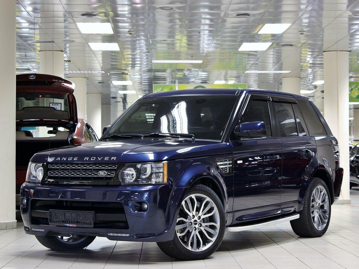 Range Rover Sport готовится сменить поколение: первое изображение