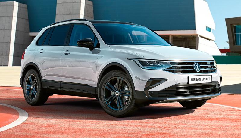 Российский Volkswagen Tiguan доступен в новой версии