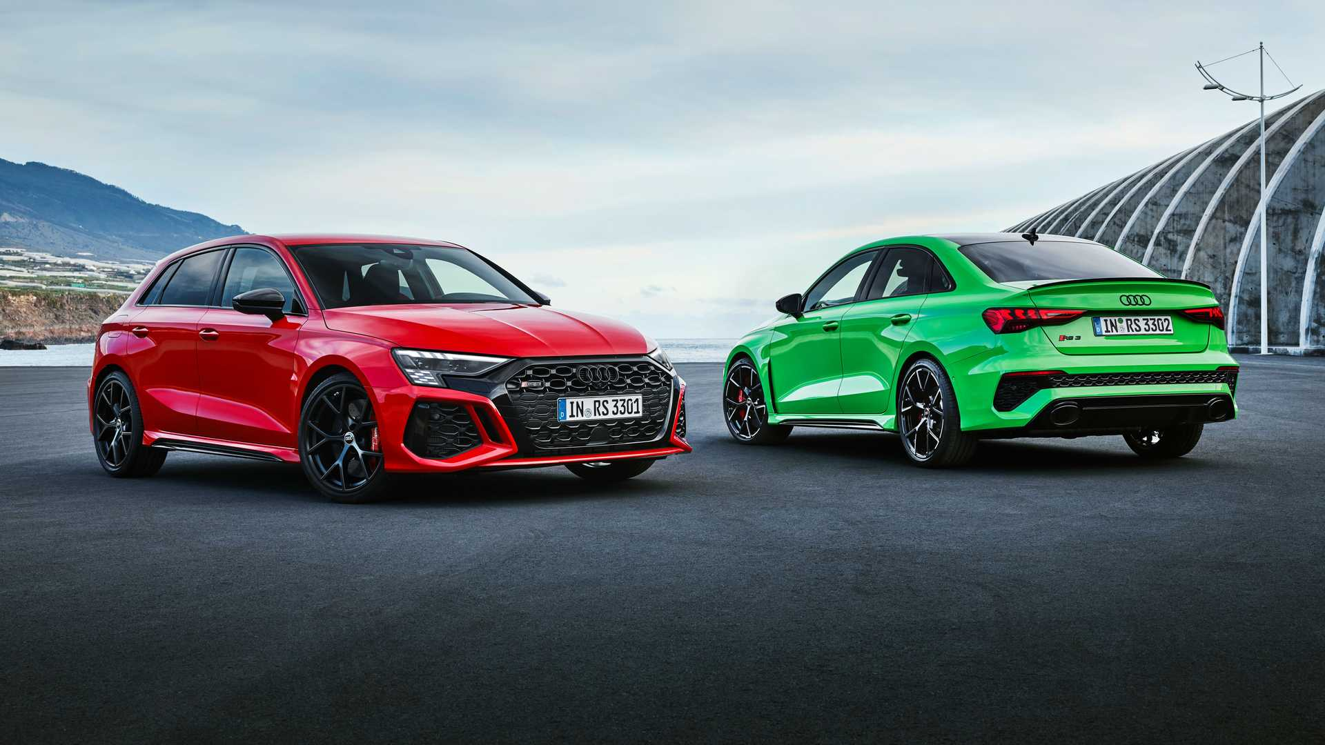 Седан и хэтчбек Audi RS 3 нового поколения: теперь свой дизайн и доработанное шасси