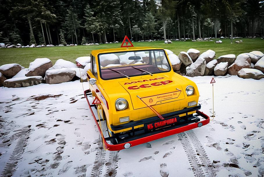 В России продают советскую мотоколяску по цене двух новых Lada Granta