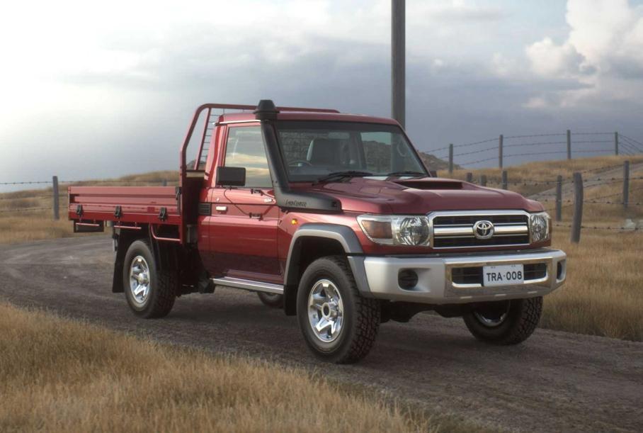 Toyota обновит 37-летний Land Cruiser 70