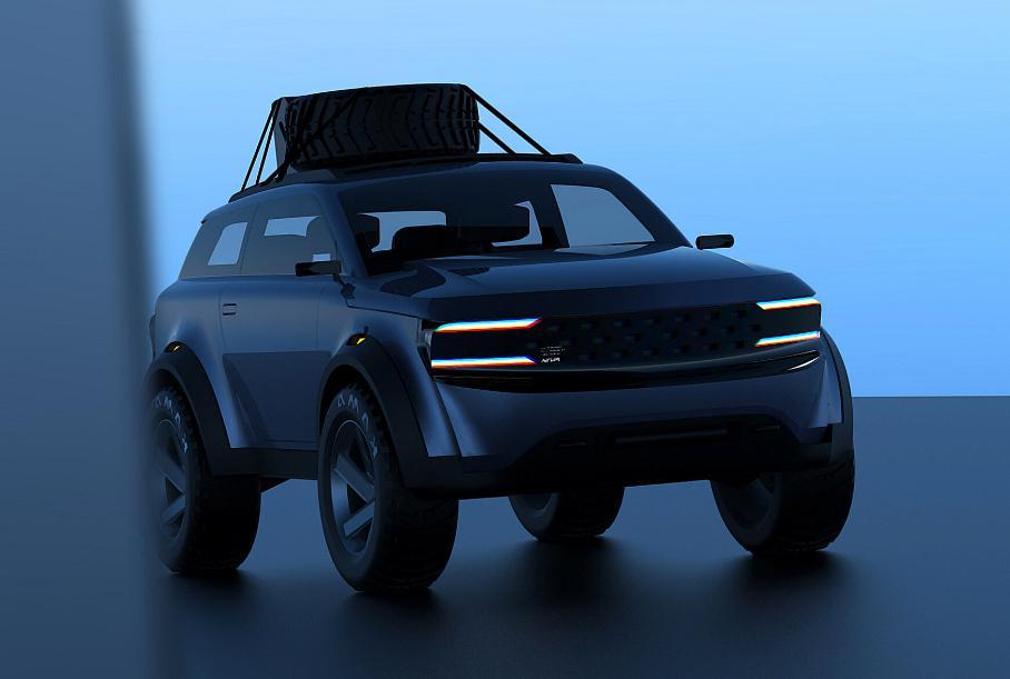 Посмотрите, какой может быть новая Lada Niva