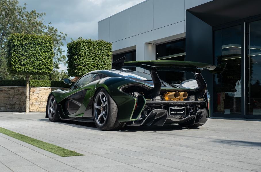 Представлен уникальный супергибрид McLaren P1 HDK