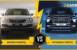 SKODA KAROQ vs Hyundai Creta