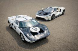 Ford посвятил новую версию суперкара GT гоночному прототипу 1964 года