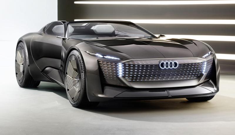 Компания Audi представила новый концептуальный электромобиль