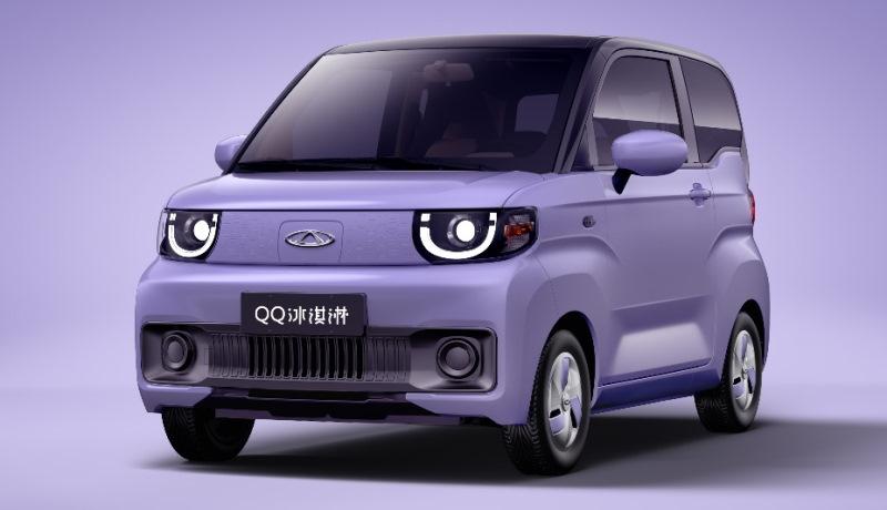 Китайский Chery QQ возродят в виде электромобиля