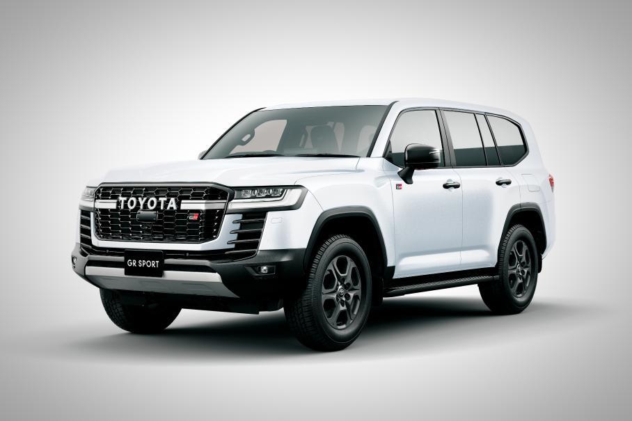 Появились новые подробности о «спортивном» Toyota Land Cruiser 300 GR Sport