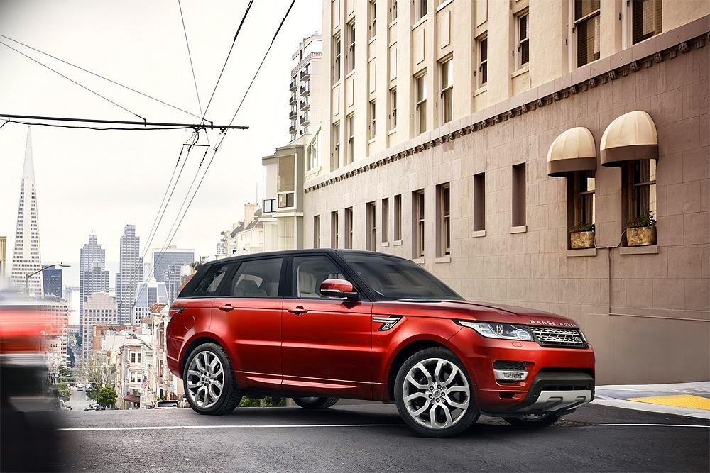 Новый Range Rover: первые изображения