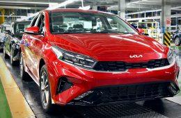 Kia начала российское производство обновленного седана Cerato