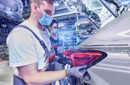 Audi остановила выпуск машин из-за дефицита микросхем