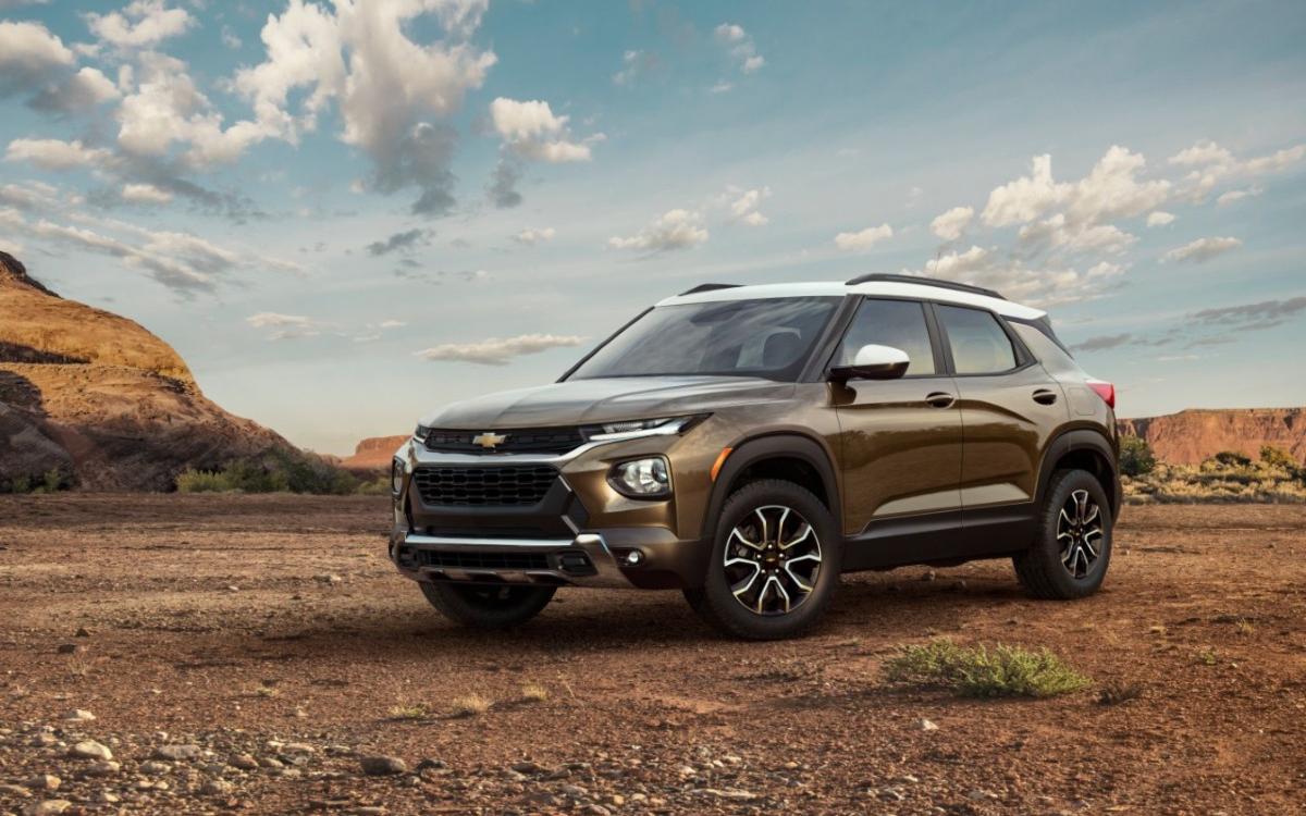 Chevrolet привез в Россию новый Trailbalzer