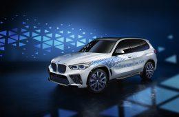 Водородный BMW iX5 Hydrogen: уже без камуфляжа, премьера — в сентябре