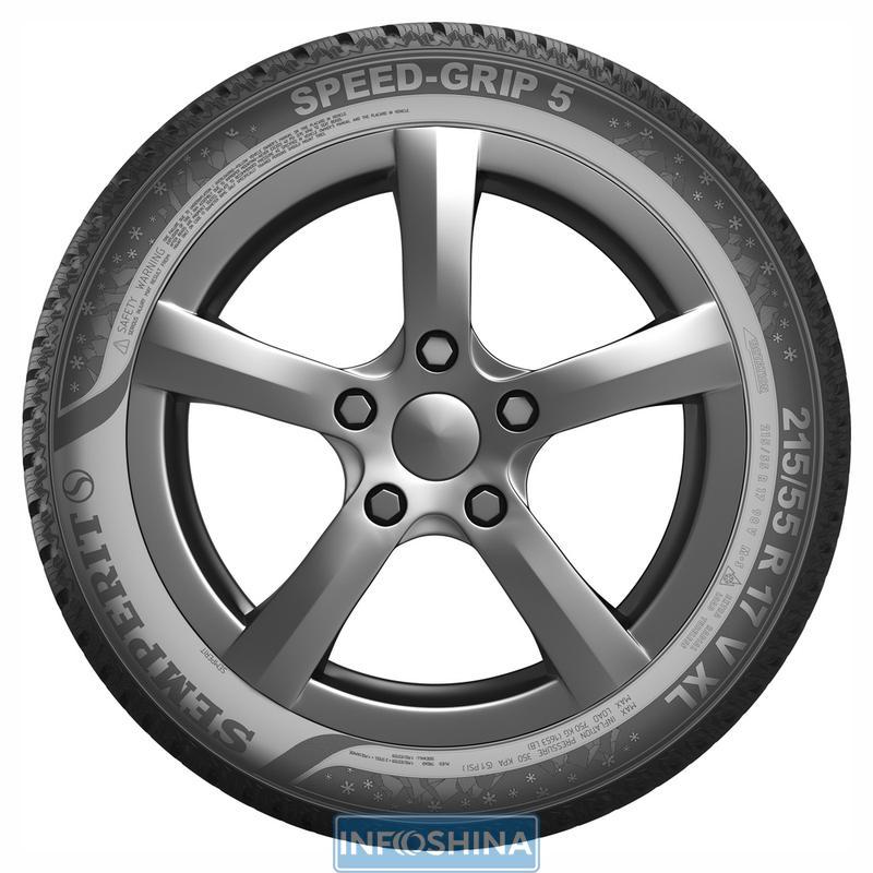 Semperit Speed-Grip 5 — фрикционная модель Европейского качества для легкового и внедорожного авто
