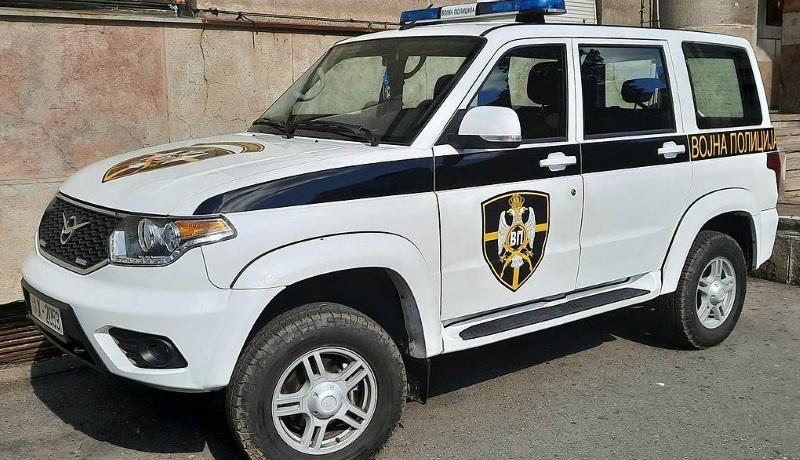 Сербские военные начали использовать российские «УАЗы Патриоты»