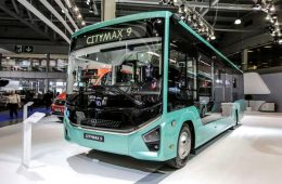 Представлен российский автобус нового поколения