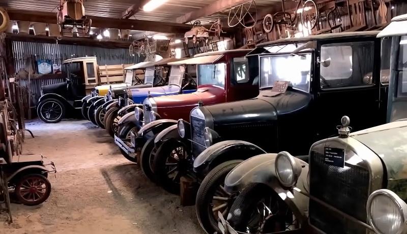 В США нашли коллекцию «Фордов» возрастом около 100 лет