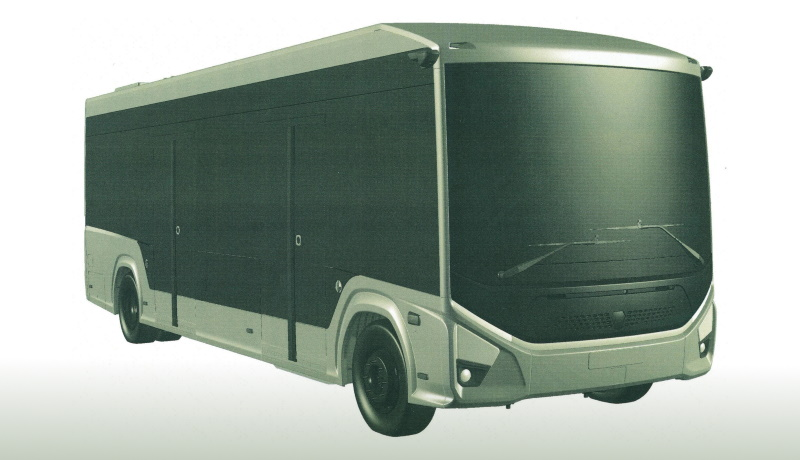 ГАЗ оформил патент на электробус среднего класса